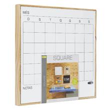 Quadro de Aviso Square Mensal Magnético 35x35cm