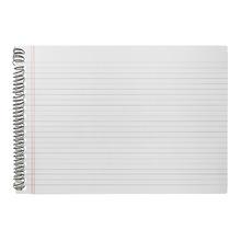 Quadro de Aviso para Escrever Caderno Branco 42x59cm