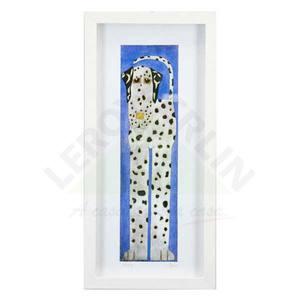 Quadro Dog Dalm 53x25cm Ventura