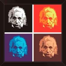 Quadro Einstein 29x29cm