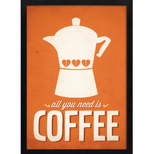 Quadro Eternity Coffee 45x32cm