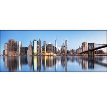Quadro Float Vidro Nova York I 120x40m