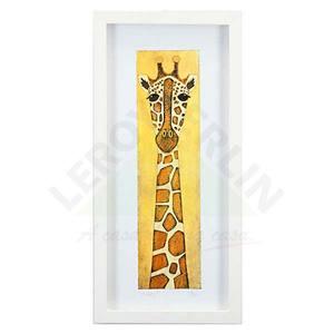 Quadro Girafa Bela 53x25cm Ventura