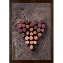Quadro Grape Cork 45x32cm