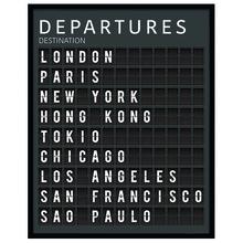 Quadro Industrial Departures I 49x39m