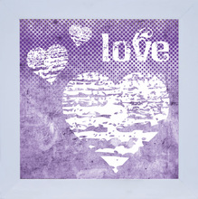 Quadro Love 29x29cm
