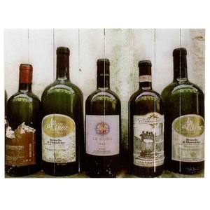 Quadro Madeira Vinhos I 40x30cm Importado