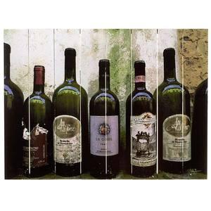Quadro Madeira Vinhos II 40x30cm Importado