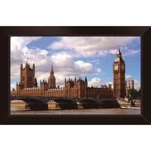 Quadro Manhã em Londres 29x29cm