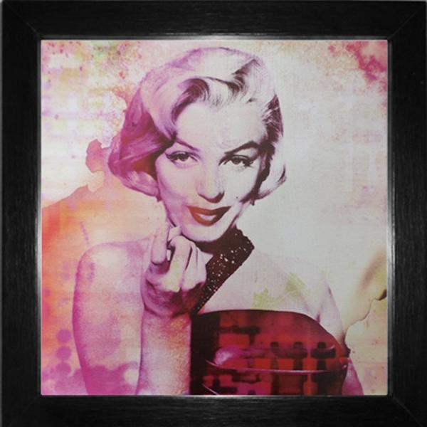 Quadro Marilyn Monroe 29x29cm | Leroy Merlin