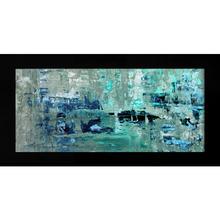 Quadro Modern Blue 51x100cm