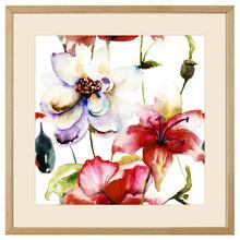 Quadro Multi Flowers 43x43cm