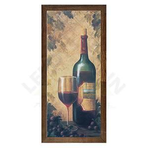 Quadro Natural Bar Vinho 30x15cm Ventura