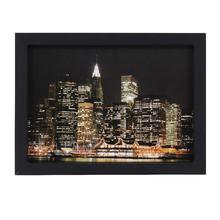 Quadro Noite em Manhattan 39x29cm