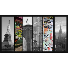 Quadro NY City 90x50cm