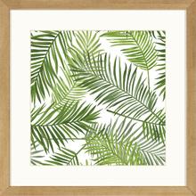 Quadro Palm Leaves 29x29cm