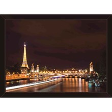Quadro Paris Panorâmica 39x29cm