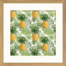 Quadro Pineapple Forest ll 29x29cm