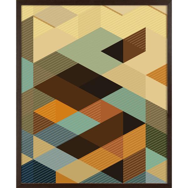 Quadro pixels 48x58cm inspire leroy merlin - Bastidor para lienzo leroy merlin ...