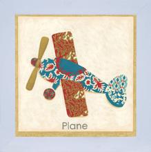 Quadro Plane 24x24cm