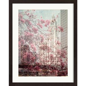 Quadro Romantic City 39x49cm