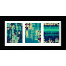 Quadro Trio Modern Blue 51x100cm
