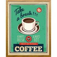 Quadro Vintage Coffee 38x48cm