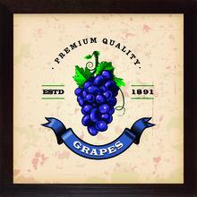 Quadro Vintage Grape 28x28cm