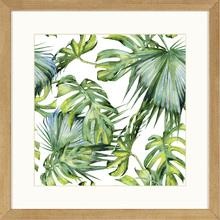Quadro Wild Leaves 29x29cm