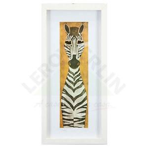 Quadro Zebra Linda 53x25cm Ventura