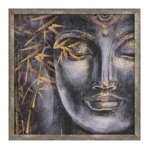Quadro Zen Buda I Azul 50x50cm Inspire