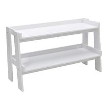 Rack Madeira Branco 61x107x39cm Ipanema Spaceo