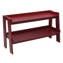 Rack Madeira Vermelho 61x107x39cm Ipanema Spaceo