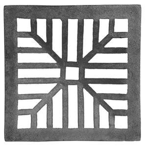Ralo Material Ferro Fundido Modelo Côncava Comprimento 25cm Largura 25cm