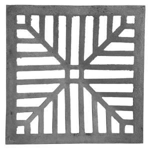 Ralo Material Ferro Fundido Modelo Côncava Comprimento 30cm Largura 30cm