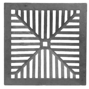 Ralo Material Ferro Fundido Modelo Côncava Comprimento 40cm Largura 40cm