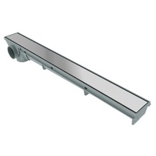 Ralo Linear Aço Inox Alumínio Retangular Sem fecho 50cm Tigre
