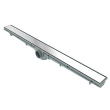 Ralo Linear Aço Inox Alumínio Retangular Sem fecho 70cm Tigre