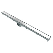 Ralo Linear Aço Inox Alumínio Retangular Sem fecho 90cm Tigre