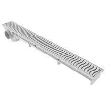 Ralo Linear PVC Branco Retangular Sem fecho 50cm Tigre