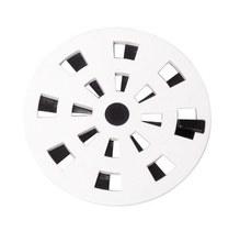 Ralo Redondo Pequeno Polipropileno Branco com Fecho 100 mm Grb1/As Astra