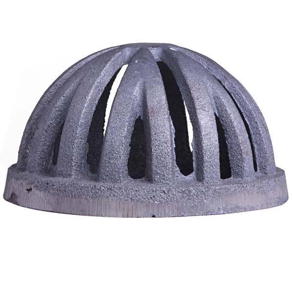 Ralo semi esf rico 6 ferro fundido 15x15cm abrazilian for Grigliati in ferro leroy merlin