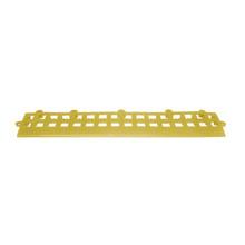 Rampa 4x16xcm Amarelo Plástico 4 peças Impallets