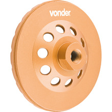 Rebolo Diamantado 115Mm Turbo Vonder - Vonder
