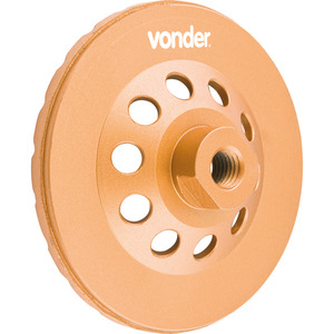 Rebolo Diamantado 115Mm Turbo Vonder - Vonder