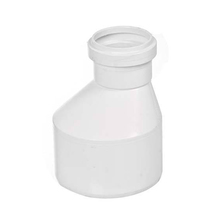 "Redução Excêntrica PVC Esgoto 100mmx75mm ou 4""x3"" Plastilit"