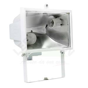Refletor Alumínio 26x16cm Branco DNI