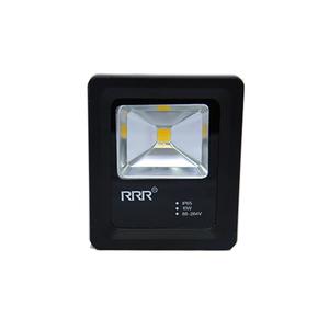 Refletor LED 10W Luz Amarela Bivolt Luz Sollar