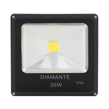 Refletor LED 30W Luz Amarela Bivolt Diamante