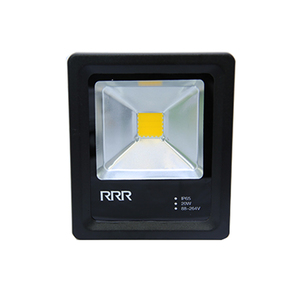 Refletor LED 30W Luz Amarela Bivolt Luz Sollar
